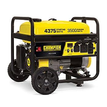 Champion Power Equipment 100522 4375/3500-Watt RV Ready Portable Generator with Wheel Kit CARB