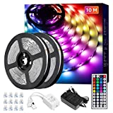 Lepro LED Strip 10M(2x5M), LED Streifen Lichterkette...