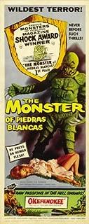 The Monster of Piedras Blancas Poster Movie Insert 14x36