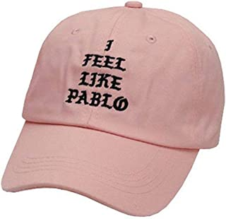 SCAA I Feel Like Pablo Dad Hat Adjustable Baseball Cap for Men and Women Pink