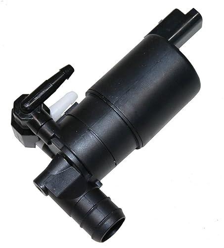 AERZETIX: Pompe duale de Lave-Glace Avant et arrière compatible avec OEM 6434.75