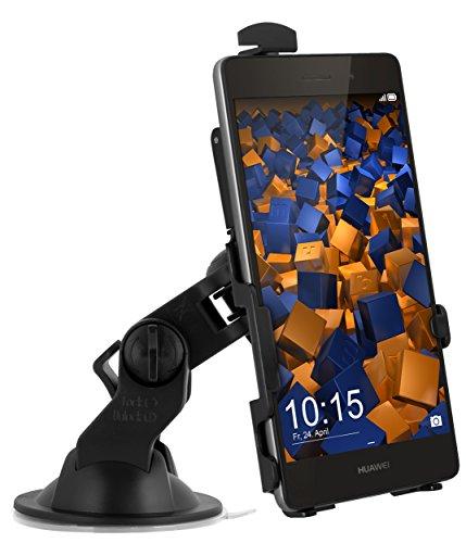 mumbi KFZ Halterung für Huawei P8 Lite / Autohalterung VibrationsFREI / 90° QUERBetrieb möglich (nicht für das P8 Lite Smart)