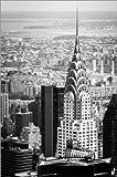Poster 40 x 60 cm: Chrysler Buildung in New York City von