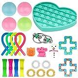 XuuSHA Popular Juguetes antiestres, Pelotas sensoriales, Juguetes sensoriales Autismo, Fidget Toys Box, Pelotas antiestres para niños, Fidget Toy Simple dimple Sorpresa