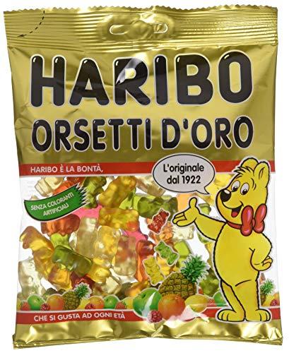 Haribo Orsetti dOro Caramelle Gommose alla Frutta, 175g