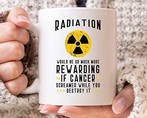 DKISEE Lustige Radiologie-Kaffeetasse mit Aufschrift