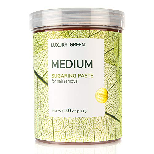 Sugaring Paste Luxury Green - Medium - for all body parts universal