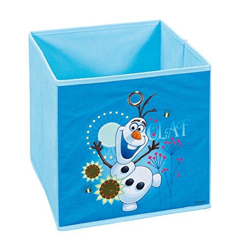 Inter Link Faltbox Aufbewahrungsbox Korb Regalbox Faltkiste im Disney Frozen Stil