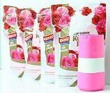 KOROPLAST 160 bolsas de basura con aroma de rosa, 15 litros, 4...