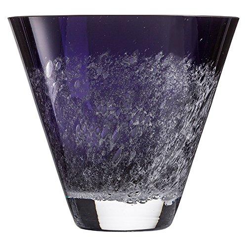 Zwiesel 1872 Vase, Glas, violett, 31 x 25.5 x 19.2 cm