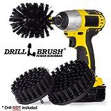 Drillbrush Heavy Drill Corredo alimentato spazzola di pulizia...