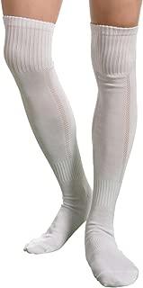 Mens Soccer Socks,Aniwon Long High Over Knee Compression Socks Athletic Socks for Mens and Boys,Dry Fast