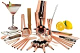 SKYFISH - Juego de 32 Piezas de coctelera Todo en uno para casa y Bar - Juego de Utensilios de Cocina para Mezclar Barman