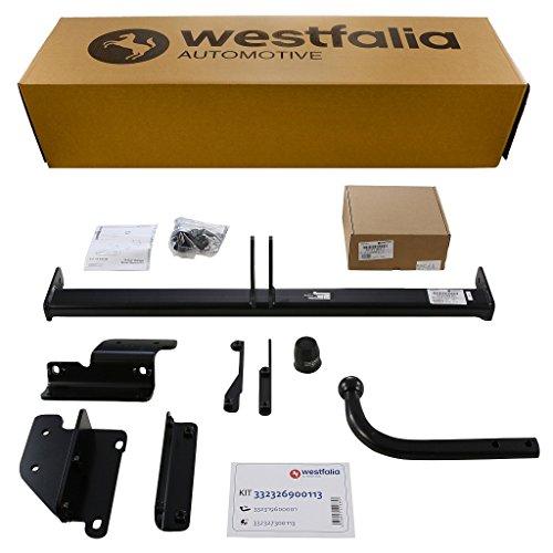 Westfalia Starre Anhängerkupplung für Nissan Qashqai (inkl +2) (BJ 02/2014 - 12/2017) im Set mit 13-poligem fahrzeugspezifischen Westfalia Elektrosatz