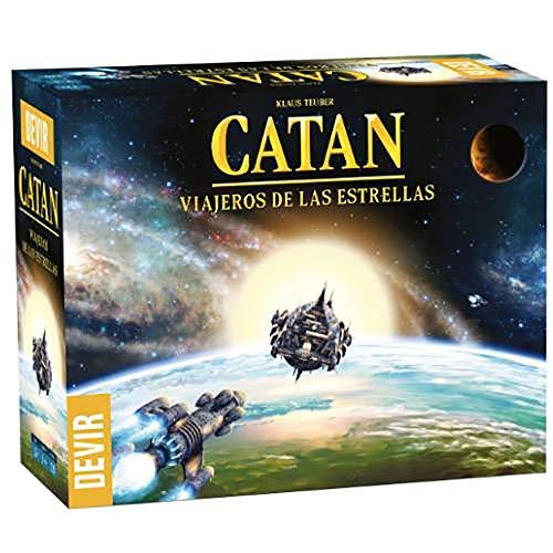 Devir- Catan Viajeros de Las Estrellas, Multicolor (BGCATVESP)
