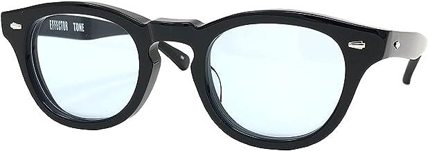 EFFECTOR サングラス 伊達眼鏡 メガネ TONE-BK-BL 【日本製】 ブラック メンズ レディース ファッション おしゃれ シンプル めがね工房ハトヤ オリジナルメガネ拭き付【正規品】