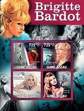 Brigitte Bardot Contempt, Les Petrole Collectible Postage Stamps