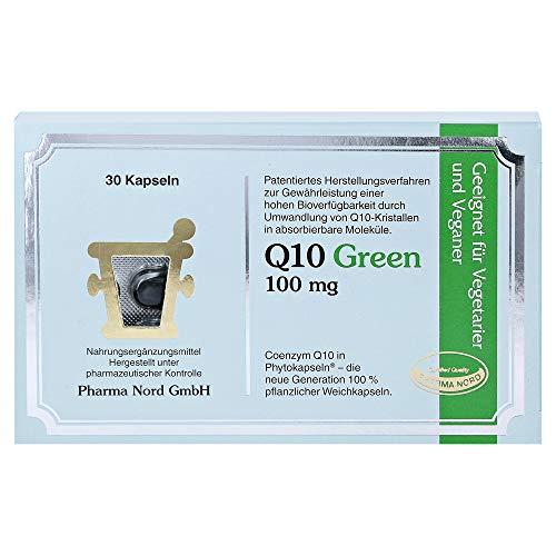 Q10 GREEN 100 mg Kapseln 30 Stück