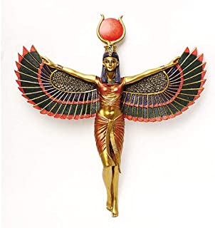Pacific Giftware Winged Isis Egyptian Goddess Wall Hanging Deity