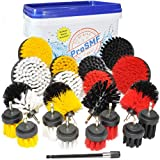 ProSMF Drill Brush Power Scrubber - Ultimate All Purpose Cleaning Drill Brush Attachment Kit -...
