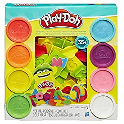 Play Doh Numbers, Letters' N Fun 35 Pieces