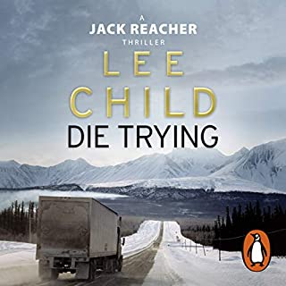 Die Trying     Jack Reacher, Book 2              By:                                                                                                                                 Lee Child                               Narrated by:                                                                                                                                 Jeff Harding                      Length: 15 hrs and 55 mins     869 ratings     Overall 4.5