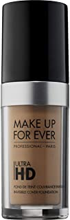 Make Up For Ever Ultra HD Invisible Cover Foundation 128 - Y415, Almond (I000032415)