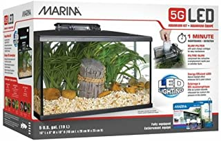 marina 5 gallon fish tank