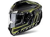 Airoh Casco Integrale motociclo Casco ST 701Safety Full Carbon Giallo XXL