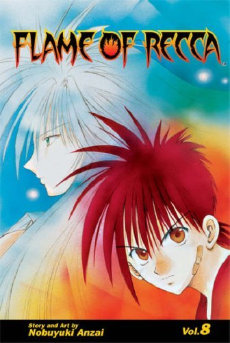 Flame of Recca Volume 8: v. 8 (MANGA) by Nobuyuki Anzai (28-Nov-2007) Paperback