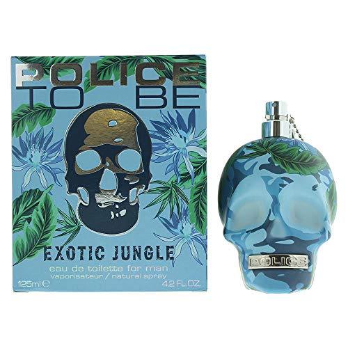 Police To Be Exotic Jungle Man Eau De Toilette Spray - 125 ml