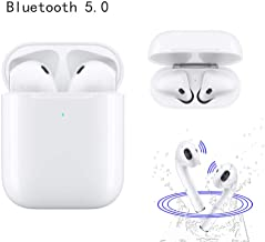 Bluetooth Wireless Earbuds, TWS Wireless Earbud Headphones with Charging Case, 3D Stereo 24H Cycle Playtime in-Ear Wireless Headphones, Compatible with Running / airpods /Android / iPhone