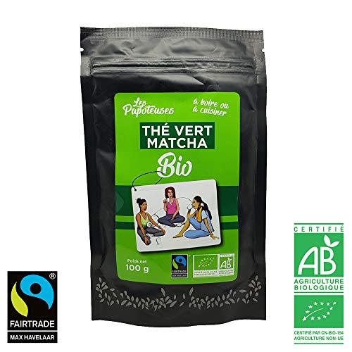 Tè verde biologico Matcha in polvere 100g