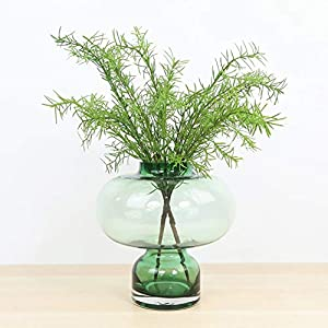 Artificial and Dried Flower 4pcs Artificial Rosemary Plant Fake Greenery Leaf Bushes Evergreen Shrubs for Home Garden Party Festival Decor