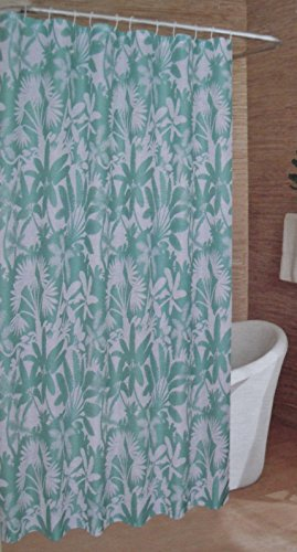 Caribbean Joe Island Supply Co. Tropic Leaf Shower Curtain - 70in X 72in