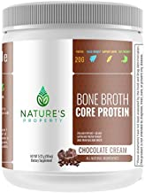 Chocolate Bone Broth Protein Powder, Grass Fed Beef, 20 Servings (18oz), Vital Collagen Peptides + Gelatin, Gluten Dairy, Egg & Nut Free, Keto and Paleo Friendly