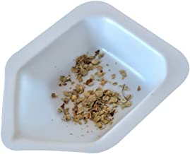Pointed Polystyrene Weigh Canoe Boats, Mini Dish 1 3/8 in x 1 7/8 in x ½ in [Pack of 125]