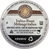 Barista Prima Coffeehouse Italian Roast Coffee K-Cup for Keurig Brewers, Italian Roast Coffee (Count of 96) - Packaging May Vary