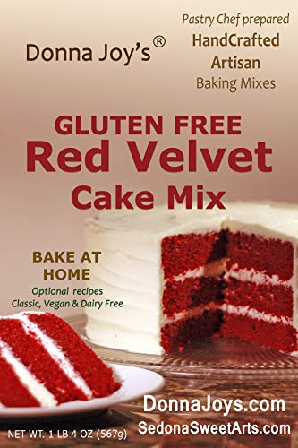 Donna Joy's Gluten Free Red Velvet Cake Mix