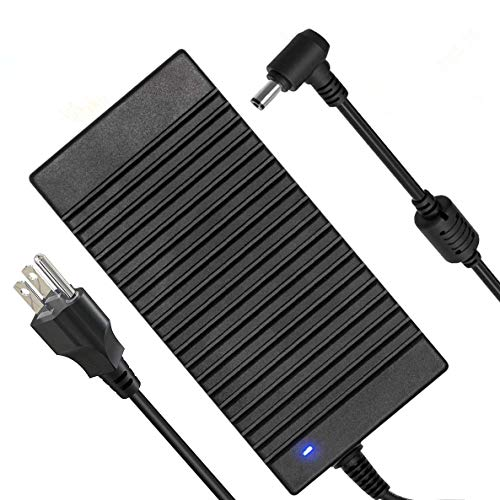 180W Asus MSI Laptop Charger,19V 9.5A 180W Power Adapter for Asus G55 G70 G750 G750JM G751JM G750JS; MSI:GS65 GT60 GT70 GE60 GE62 GE70 GP62 GP72 GX600 GX620 GX630 GX633 GX640 GX660 GX680
