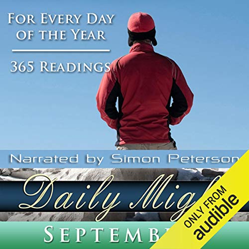 Daily Might: September audiobook cover art