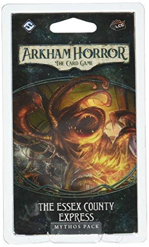 Juego de cartas Fantasy Flight Games AHC04 Arkham Horror The Essex County Express Mythos Pack , color/modelo surtido