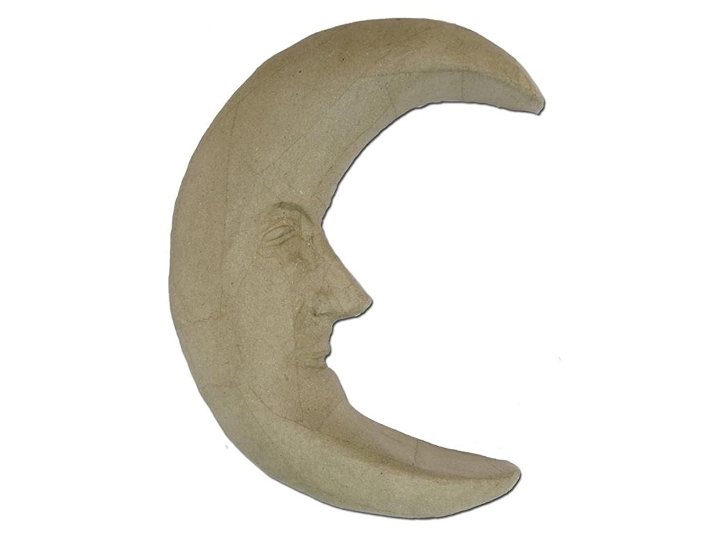 Craft Ped Paper CPLAD0006 Mache Moon with Face Kraft, 10x12