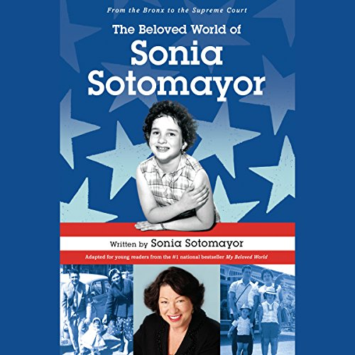 The Beloved World of Sonia Sotomayor audiobook cover art