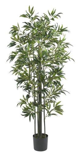 - Nearly Natural 5294 Bamboo Silk Tree, 6-Feet, Green