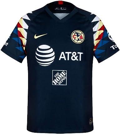Amazon.com : Nike 2019-2020 Club America Away Jersey (Armory Navy ...