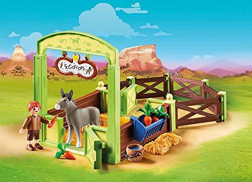 Establo del señor Zanahoria y Trasqui Spirit Playmobil (70120)
