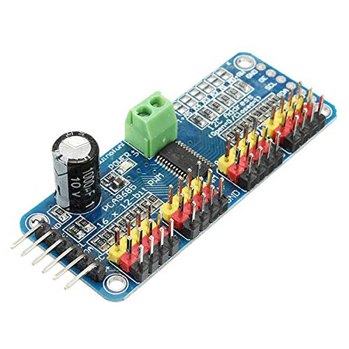 hgbygvuy 5pcs PCA9685 PWM a 12 canali 16-Bit PWM Servomechanism Motor Driver I2C Modulo I2C - Prodotti Che funzionano con Le schede prescritte S