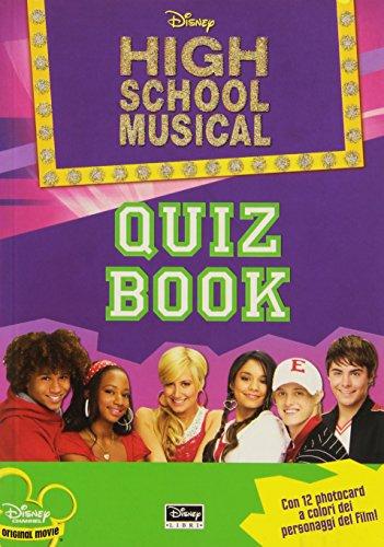 High School Musical. Quiz book. Con gadget