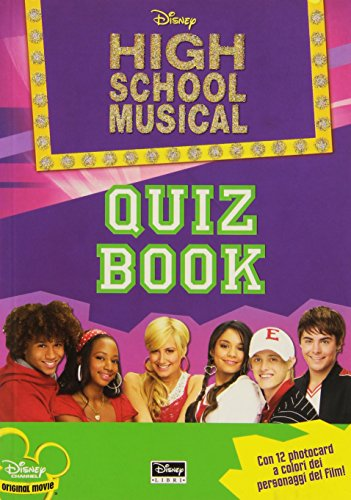 High School Musical. Quiz book. Con gadget